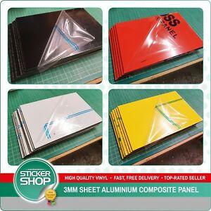 3mm Matt / Gloss Dibond Alternative ACM Sheet Aluminium Composite Panel