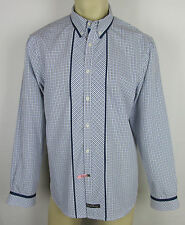 Mens English Laundry Christopher Wicks shirt long sleeve button front Plaid XL