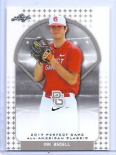 """IAN BEDELL 2017 """"1ST EVER PRINTED"""" PERFECT GAME AAC ROOKIE CARD!!!"""