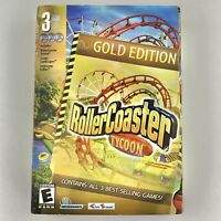 RollerCoaster Tycoon Gold Edition 3 PC Roller Coaster Loopy Landscapes Corkscrew