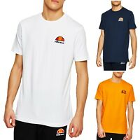 ellesse Classic Canaletto Crew Neck Plain T-Shirt Retro Sports Top Casual Tee