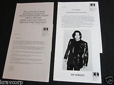 KIP WINGER 'THIS CONVERSATION SEEMS LIKE A DREAM' 1996 PRESS KIT—PHOTO