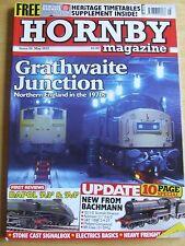 HORNBY MAGAZINE MAY 2012 #59 GRATHWAITE JUNCTION NEW BACHMANN DAPOL A3 A4