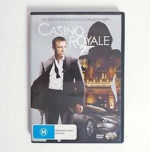 James Bond 007 Casino Royale DVD Movie Region 4 Free Postage - Daniel Craig