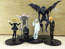 Death Note figures 6pcs set New Light Japan Anime L Light Yagami Misa AU Rare
