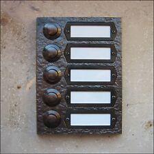 10 St Kirchhoff Klingel Kontaktplatten Grundplatte variable Montage !NEU!!