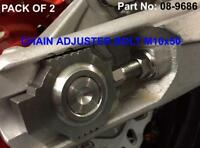 TITANIUM SWINGARM CHAIN ADJUSTER BOLTS & NUTS KTM EXCF250 2006-2018 EXC-F 250