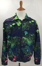 Speedo Windbreaker Jacket All Over Print Colorful Bright High Quality Size M EUC