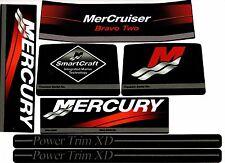MERCRUISER  BRAVO TWO  WITH/ GRAY RAMS STICKER SET