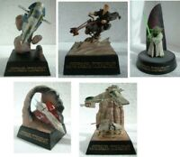 Ultra Raro Set 5 Figura Diorama Star Wars Tomy Trading Figures Serie Parte 3