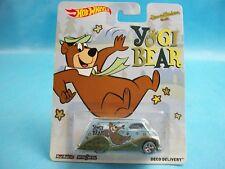 Hot Wheels Yogi Bear DECO DELIVERY Hanna Barbera Real Riders