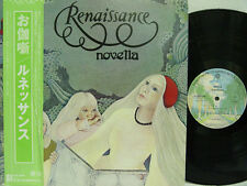 RENAISSANCE - Novella LP (RARE Japanese Import w/Alternate Artwork Gatefold)