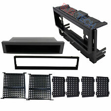 Radio Replacement Dash Mounting Kit Installation Single Din w/Pocket for Toyota