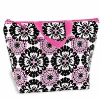 Thirty one thermal 31 Picnic Lunch hand Tote bag gift Pink Pop Medallion new