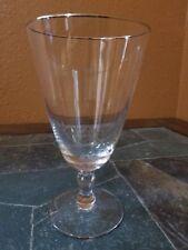"Fostoria ""Engagement"" Iced Tea Goblet Glass 6 3/8"""