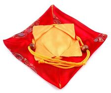 *Ship From U.S* Top Quality Flexible Red Fine Silk Bag Cover Teapot Protection