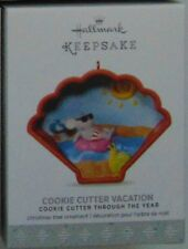 Hallmark 2017 Cookie Cutter Vacation Mouse Ornament 6th Throughout The Years