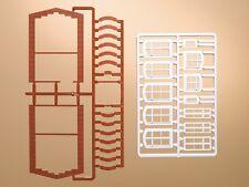 AUHAGEN 41615 h0 - 1.87 - finestra archi e finestre-NUOVO IN SCATOLA ORIGINALE