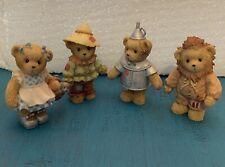 Cherished Teddies set of 4 Wizard of Oz Enesco Avon