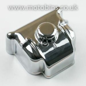 NEW RIGHT SIDE CHROME CARBURETTOR FLOAT BOWL FOR BMW TWINS WITH 40MM CARBS