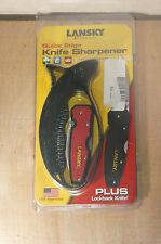 LANSKY SHARPENER / KNIFE COMBO    *NEW*    (99y8815)