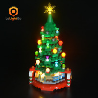 LED Light Kit For LEGO Christmas Tree 40338 building bricks set Christmas LEGO