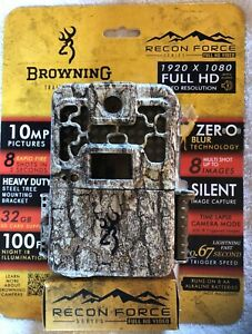 Browning Recon Force HD 10MP, Model BTC-7FHD, Full HD Video Trail Game Camera
