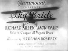 SKY BRIDE-1932 Richard Arlen, Jack Oakie region free DVD