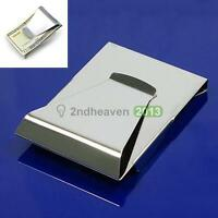 1PCS Hot Newest Slim Steel Money Clip Double Sided Credit Card Holder Wallet