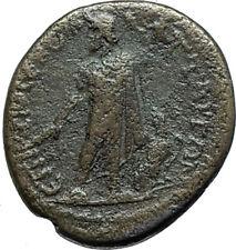 TRAJAN 98AD Attaea / Attaos in Mysia Authentic Ancient Roman Coin ZEUS i66134