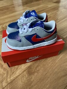 AUTHENTIC Nike Dunk Low SP Samba Toddler TD Size 8C NEW