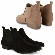 Unbranded Ankle Slip on Faux Suede Women's Boots
