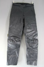 "HEIN GERICKE STREETLINE LEATHER BIKER TROUSERS/ARMOUR: WAIST 30""/INSIDE LEG 32"""