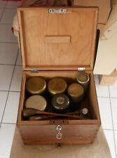 458 alte Ziselier-Punzen, Goldschmiede-Punzen, mit Kiste und 6 Hämmern