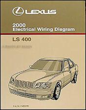 2000 Lexus LS 400 Wiring Diagram Manual Original LS400 Electrical Schematics OEM