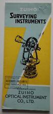 ZUIHO Optical Surveying Instruments 1951 dealer brochure - Canada - ST501001218