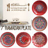 10x Ramadan Kareem Plates Tableware Eid Mubarak Muslim Dinner Party Supply