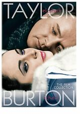 ELIZABETH TAYLOR & RICHARD BURTON FILM COLLECTION 4 movie DVD - UK Compatible