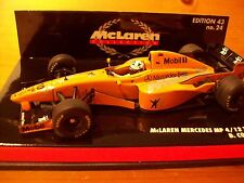 1/43 McLAREN 1997 MP4/12 ORANGE TESTCAR DAVID COULTHARD