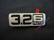 SIDE DOOR SILVER LOGO 3.2 6 AUTO FOR NEW FORD RANGER 2012 WILDTRAK GENUINE PART