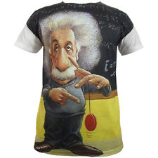 albert einstein sublimación Completo Diseño Frontal Camiseta/Suéter/Divertido/