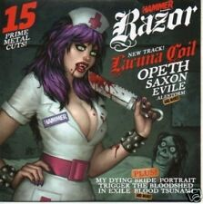 (500L) Metal Hammer magazine, Razor 191 - DJ CD