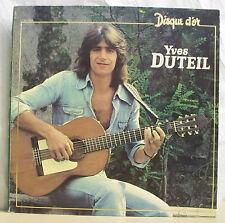 """33 tours Yves DUTEIL Vinyle LP 12"""" DISQUE D'OR - PATHE EMI 72021 Frais Rèduit"""