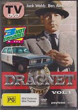 DRAGNET VOL. 1 - JACK WEBB - DVD - CLASSIC TV - NEW -