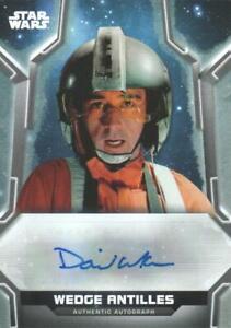 2020 Star Wars Holocron Autograph #A-DA David Ankrum, Voice of Wedge Antilles