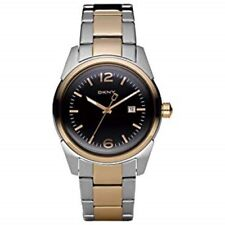 Genuine DKNY Unisex 2 tone bracelet with Black face and date watch NY4989 £135