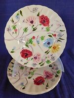 Blue Ridge Pottery Chintz LUNCHEON PLATE 1 of 3 available have more items set