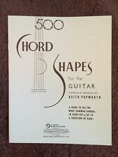500 chord shapes for the guitar by kieth papworth
