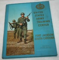 1970 US ARMY Basic Training FORT JACKSON SC 8th Battalion COMPANY B YEARBOOK