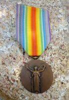 alte Medaille Orden 1. WK WW Frankreich La Grande Guerre pour la Civilisation